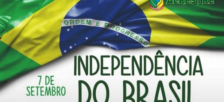 """""""Terra adorada. Entre outras mil, és tu, Brasil. Ó Pátria amada!"""