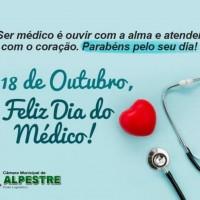 18 DE OUTUBRO, DIA DO MÉDICO!